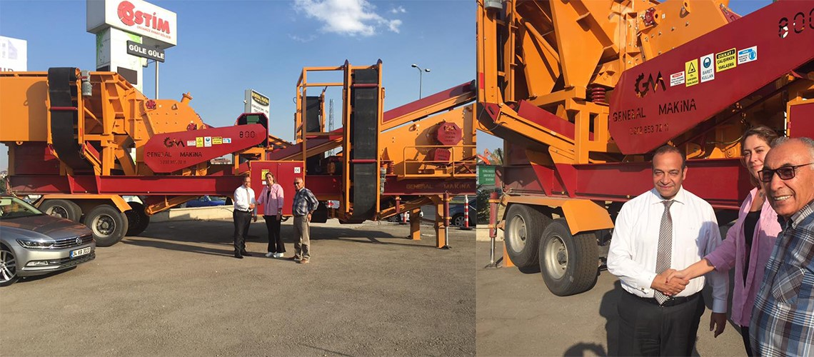 2 Mobile Crusher was given Tamtaş Inc. from our Ankara Branc