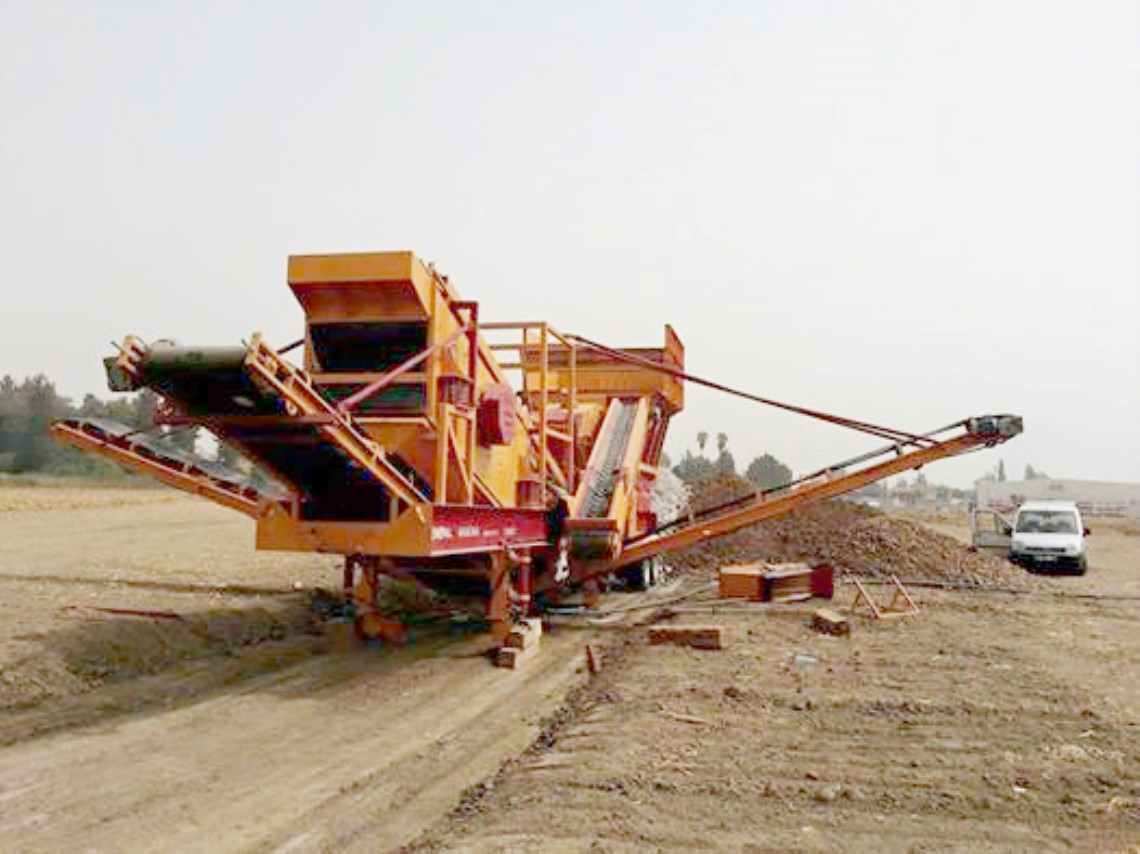 General 800 Mobile Stone Crushing Plant ready to produce in Urfa
