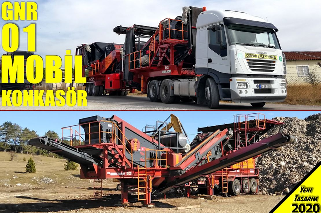 GNR 01 Mobile Crusher Manufacturing and Export - MONTENEGRO