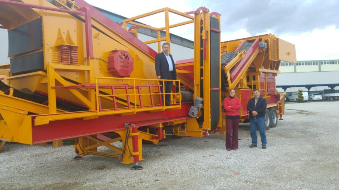 Mobile Stone Crushing Screening Facility Sold