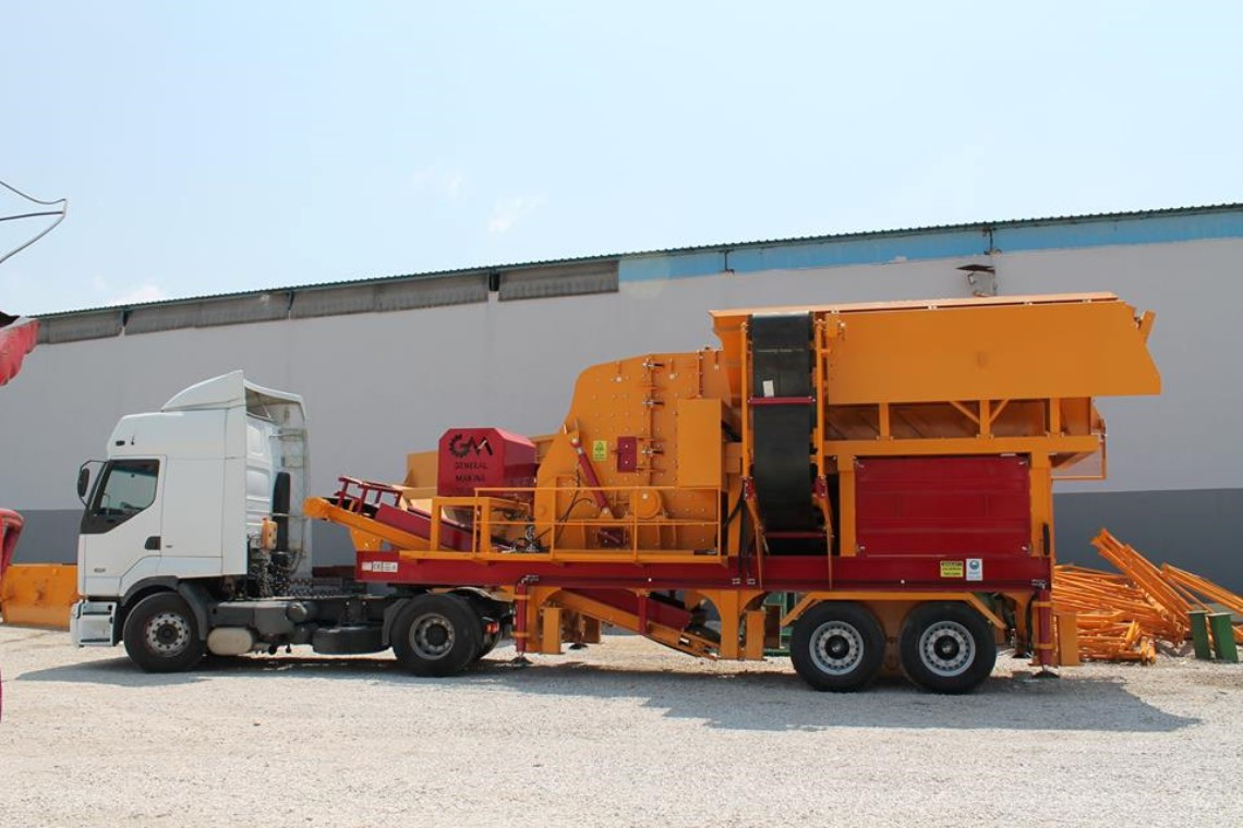 Transportation Of Mobile Primary Impact Crusher To Mugla City