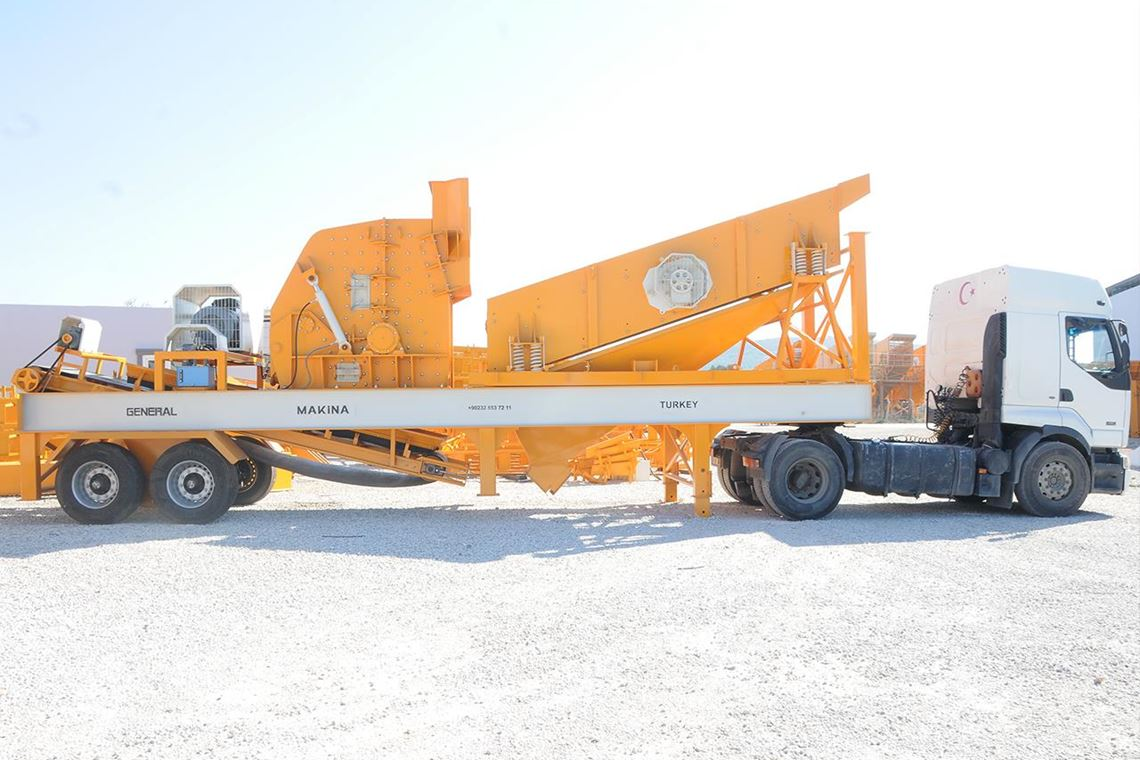 Mobile Pre-Screening Crusher