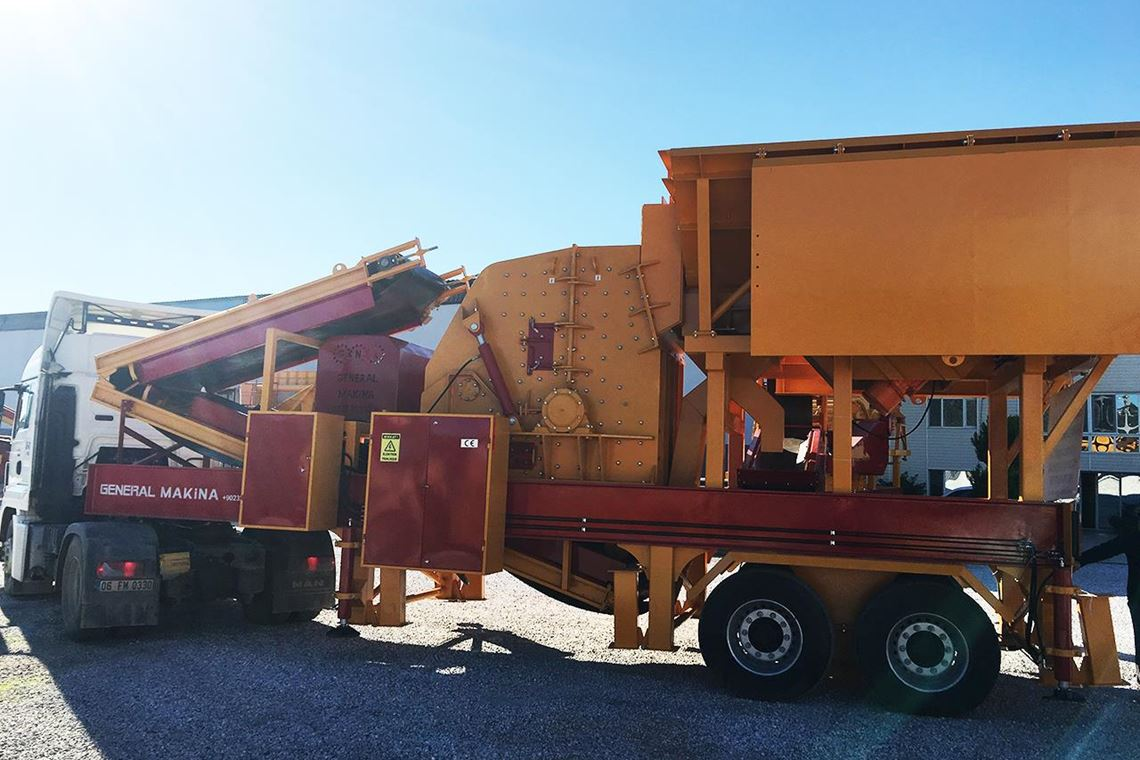 Mobile Secondary Impact Crusher