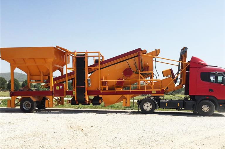 GNR YM1240 Mobile Washing and Screening Plant